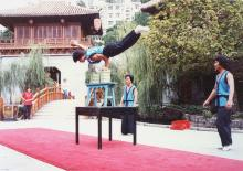 Sung Dynasty village acrobats