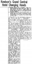 THE ARLINGTON HOTEL-Hub of the universe!-China Mail-05-12-1945