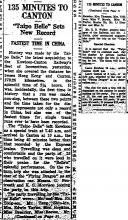 Taipo Belle sets a new record-China Mail-15-10-1936