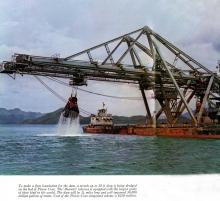 The Biarritz dredging at Plover Cove