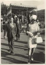 Undated - Stephen WONG Yuen Cheung with Princess Alexandra
