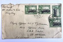 Wartime letter from Hong Kong to Wales
