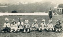 William Paterson b.1947. 1949 (01) 3rd from right. Broadwood Road.jpg