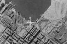 Hung Hom Ferry Piers aerial view 1964