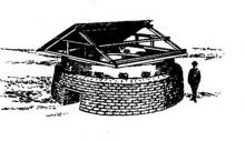 Sketch of round pillbox