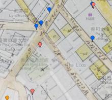 Original Catholic Cathedral - on curent map