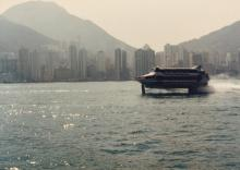 View from Lantau ferry