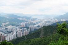View of Shatin from Maclehose stage 5