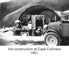 Nissen hut construction