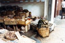 Preserved vegetable shop