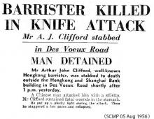 Barrister Killed in Knife attack