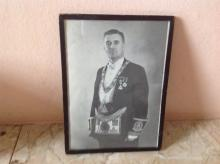 iRobert Cunningham, in Masonic regalia, Hong Kong 1940s
