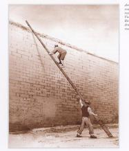 p.210 - Escape by bamboo pole in 1850