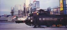 1997 Royal Navy Sea King Helicopter