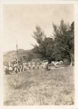 15HKG Scouts camping, c1950, 3