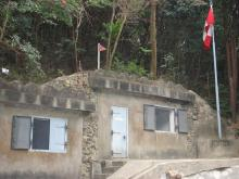 NCO Bunker. Separated from the central West Brigade HQ structures.