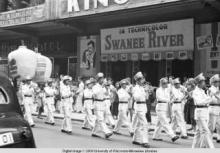 Hong Kong, marching band of wind instruments in a funeral procession