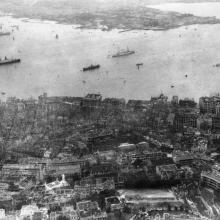 c.1930 View of Central & Harbour