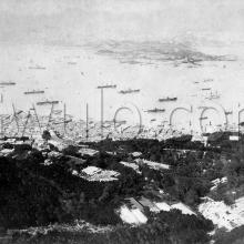 c.1886 View over Central and the Harbour