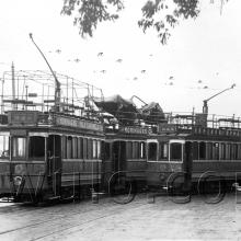 1923 Crashed trams on Arsenal Street