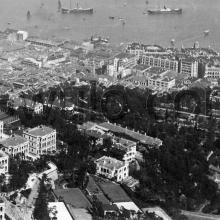 c.1906 View over Mid-levels and Central to harbour