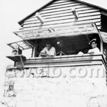 1918 Lookout at Cape D'Aguilar