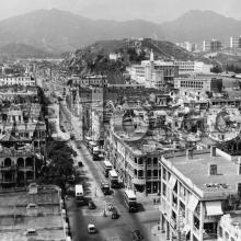 1950s View north along Nathan Road
