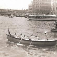 1940s Boats Alongside Praya Central