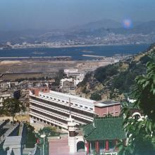 View from Tiger Balm Garden,1954
