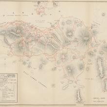 1890s Map of Hong Kong Island