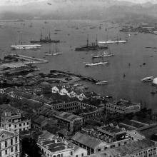 1904 town and harbour hong kong