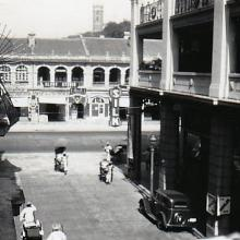 1935 Junction of Nathan Road and Peking Road
