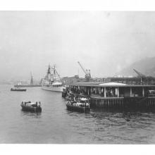 Queens Pier Hong Kong March 1959