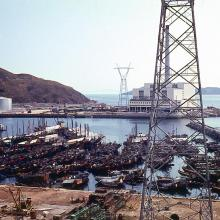 Hong Kong. Ap Lei Chau Power Station. 1968