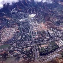1950s Kowloon Tong Aerial View