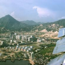 Leaving Kai Tak 1966
