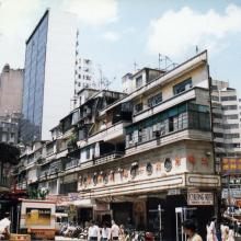 TST in 1990 Hanoi Road ahead and Hart Avenue on right