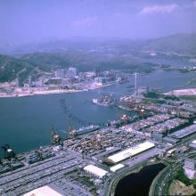 The Kwai Chung Container Terminal = 葵涌貨櫃碼頭 1981