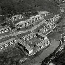 Queen's Hill Barrack, presently the Married Quarters of the Hong Kong Police Force and the Hong Kong Police Field Patrol Detachment 1964