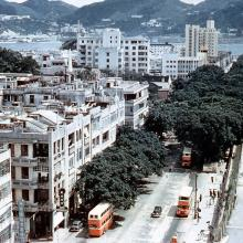 1956 Nathan Road (View from Shamrock Hotel Southbound)