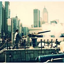 Firing of the Noonday Gun, Causeway Bay