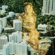 1972 Po Shan Road landslide / Kotewall Road disaster