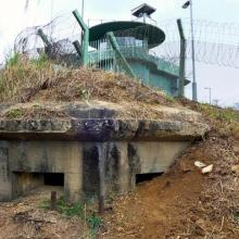 Japanese Pillbox hid under the MacIntosh Fort 麥景陶碉堡