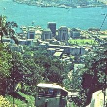 The Peak Tram Hong Kong 1960