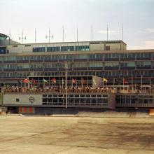 1964 Kai Tak Airport Control Tower and Observation Deck