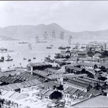 1920 Wan Chai and Kellett Island, Hong Kong. = 灣仔及奇力島