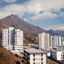 1968 Kowloon Tsai Military Quarters, Pilgrim's Way towards Lion Rock