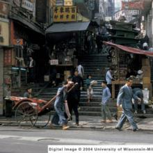 1965 Hong Kong, Pottinger Street