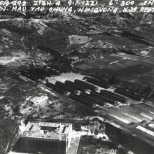 A recon photo of a Japanese POW Camp (King Park)