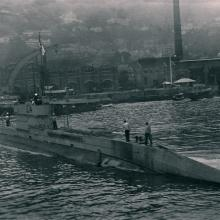 1922 L4 Submarine - Royal Naval Dockyard